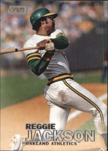 Photo of 2016 Stadium Club #41 Reggie Jackson