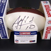 Bills - AJ McCarron Signed Panel Ball