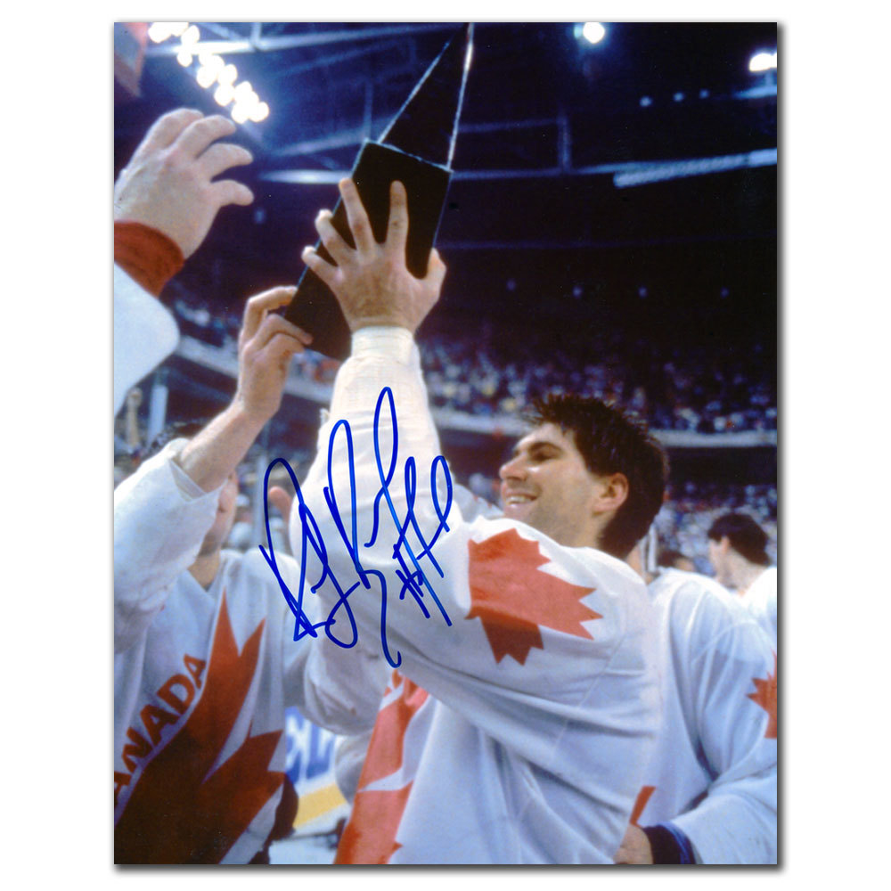 Ray Bourque Team Canada 1991 CANADA CUP Autographed 8x10