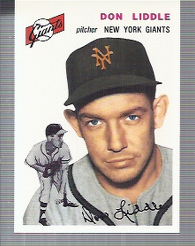 Photo of 1994 Topps Archives '54 #225 Don Liddle
