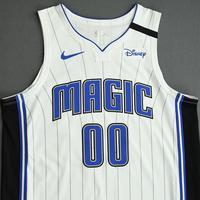Aaron Gordon - Orlando Magic - Game-Worn Association Edition Jersey - Recorded a Double-Double - 2019-20 NBA Season Restart with Social Justice Message