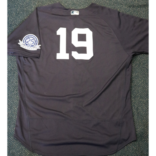 Photo of 2020 Game-Used Spring Training Jersey - Masahiro Tanaka #19 - Size 52