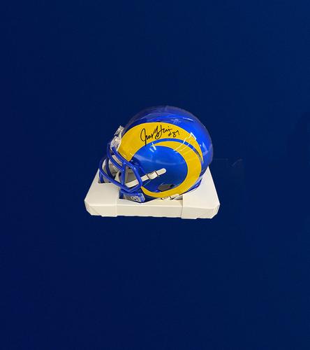 Photo of 2021 4th Round Draft Pick - Jacob Harris Signed Mini-Helmet