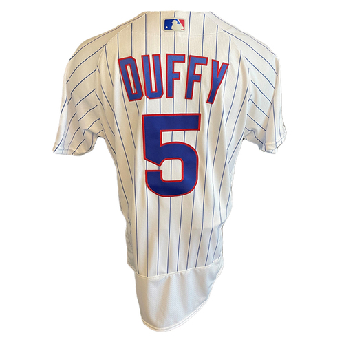 Photo of Matt Duffy Team-Issued Jersey -- Padres vs. Cubs -- 6/2/21 -- Features ALS Patch -- Size 42