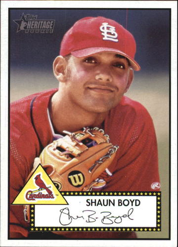 Photo of 2001 Topps Heritage #111 Shaun Boyd RC