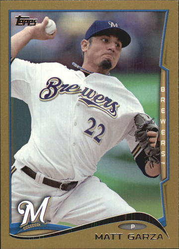 Photo of 2014 Topps Gold #351 Matt Garza