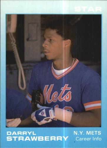 Photo of 1988 Star Strawberry Glossy #6 Darryl Strawberry/Career Info