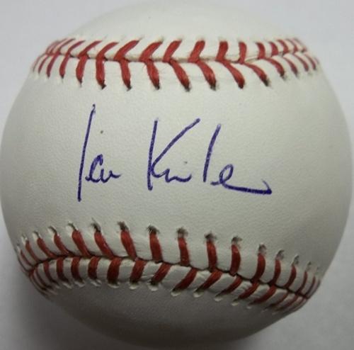 Ian Kinsler Autographed Baseball