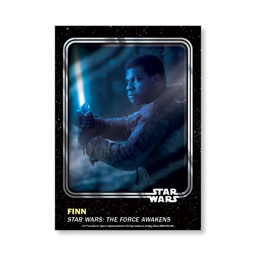 Finn 2016 Star Wars Card Trader Base Poster - # to 99