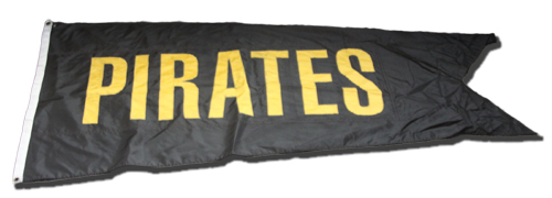 Wrigley Field Collection -- Rooftop Flag -- Pirates