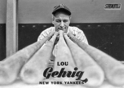 Photo of 2017 Stadium Club #154 Lou Gehrig