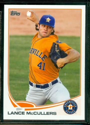 Photo of 2013 Topps Pro Debut #25 Lance McCullers Pre-Rookie Card
