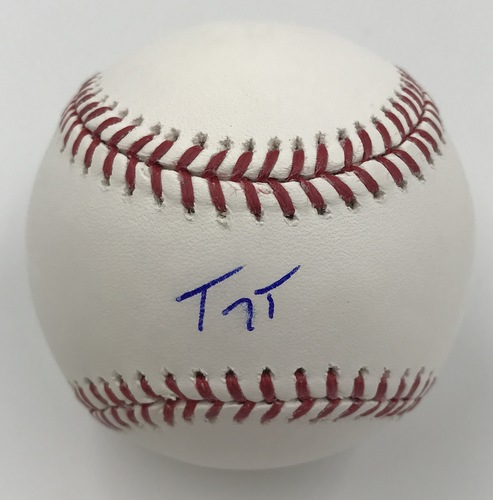 Photo of Troy Tulowitzki Autographed Baseball