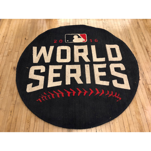 Photo of 2016 World Series - Game-Used On-Deck Circle (Visitors Side) from Games 3, 4 and 5