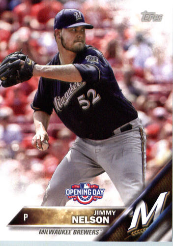 Photo of 2016 Topps Opening Day #OD23 Jimmy Nelson