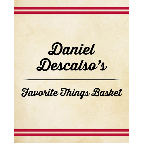 Photo of Daniel Descalso's Favorite Things Basket