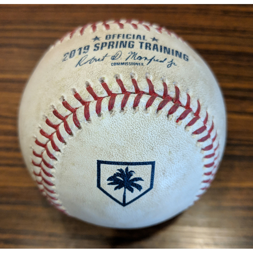 Photo of Trey Mancini - Foul Ball: Game-Used