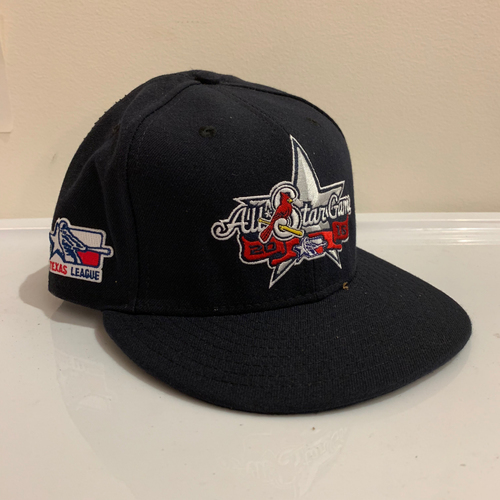 Photo of 2016 Texas League All Star Game -  Game Used Cap  - Preston Beck (Texas Rangers) Size - 7 -1/2