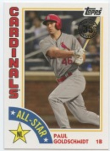 Photo of 2019 Topps '84 Topps All Stars #84ASPG Paul Goldschmidt