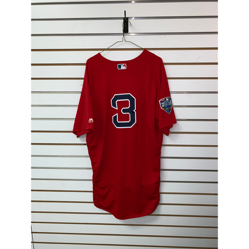 Photo of Sandy Leon Team Issued 2018 World Series Home Alternate Jersey