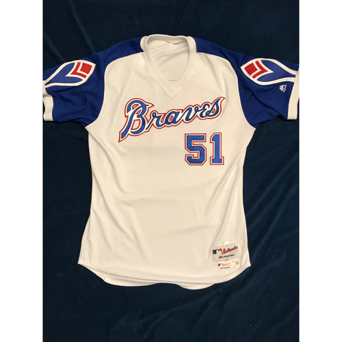 huge selection of fba61 857c1 Braves Auctions | Chris Martin (Team-Issued or Game-Used ...