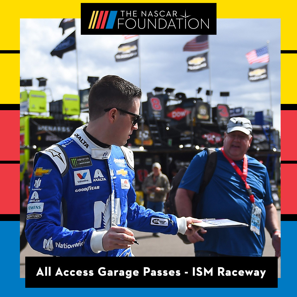 All Access Garage Passes at ISM Raceway!