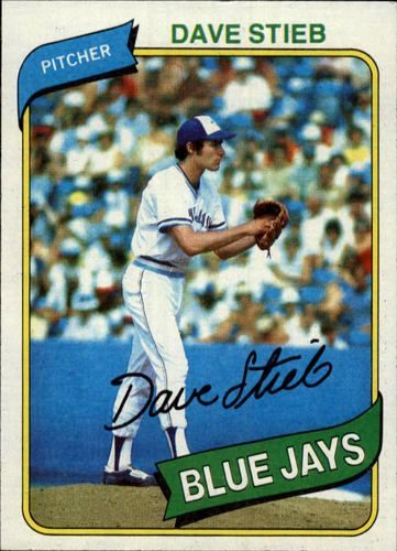 Photo of 1980 Topps #77 Dave Stieb RC