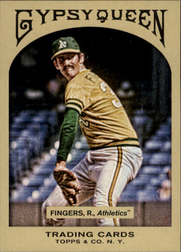 Photo of 2011 Topps Gypsy Queen #211 Rollie Fingers