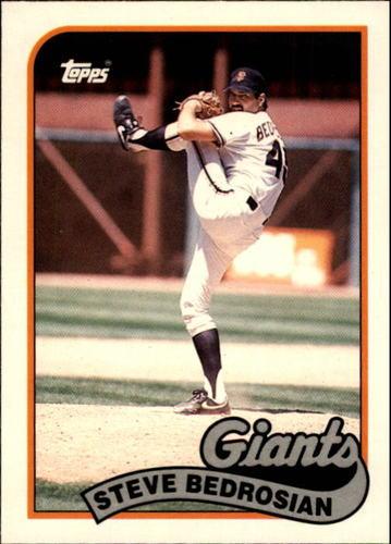 Photo of 1989 Topps Traded #8T Steve Bedrosian