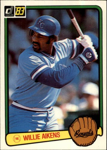 Photo of 1983 Donruss #212 Willie Aikens