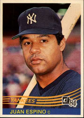 Photo of 1984 Donruss #92 Juan Espino