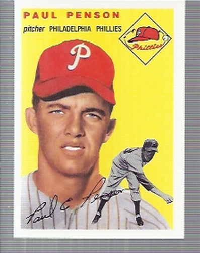 Photo of 1994 Topps Archives '54 #236 Paul Penson