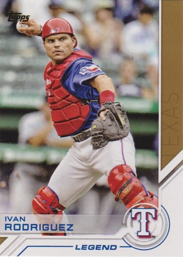 Photo of 2017 Topps Salute #S77 Ivan Rodriguez