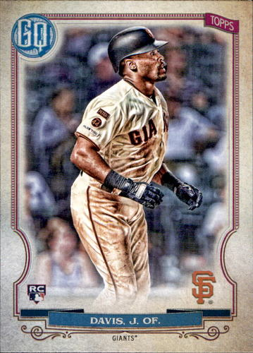 Photo of 2020 Topps Gypsy Queen #194 Jaylin Davis RC
