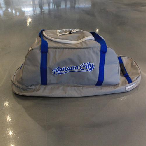 Game-Used Spring Training 2020 Bag: Whit Merrifield #15