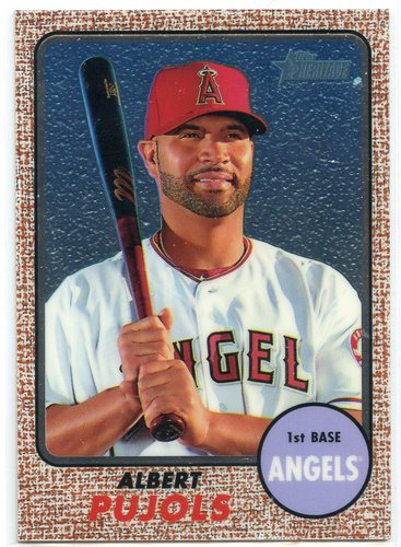 Photo of 2017 Topps Heritage Chrome #THC413 Albert Pujols