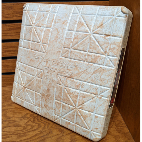 Photo of April 11, 2018 Red Sox vs. Yankees Game Used 3rd Base