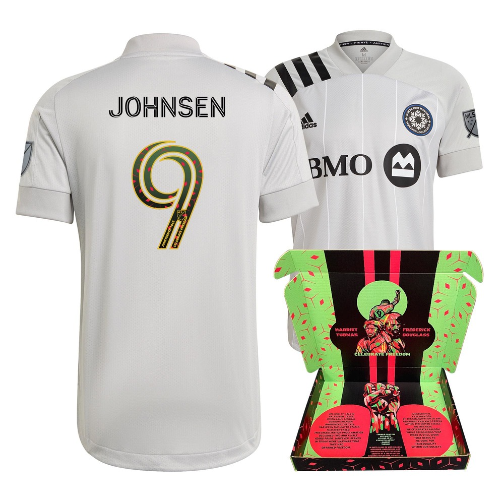 Björn Johnsen CF Montreal Player-Issued & Signed