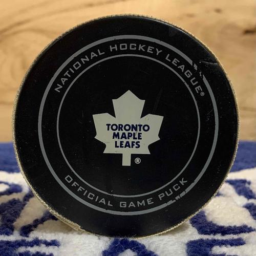Phil Kessel 4th NHL Career Hat-Trick Puck (Oct 22/13 vs ANA)