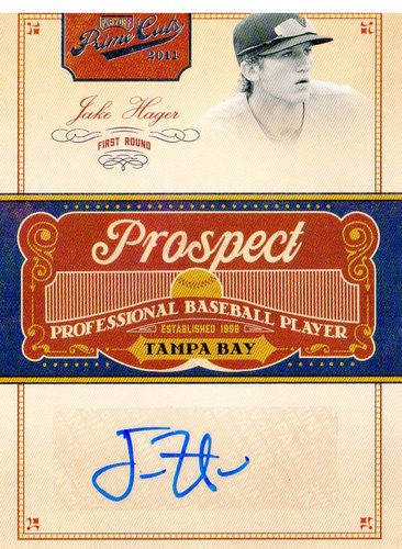 Photo of 2011 Prime Cuts Prospect Signatures #JH Jake Hager