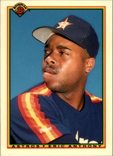 Photo of 1990 Bowman Tiffany #81 Eric Anthony