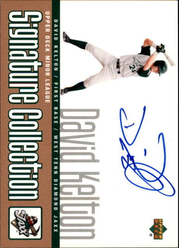 Photo of 2002 UD Minor League Signature Collection #DKE David Kelton AUTO