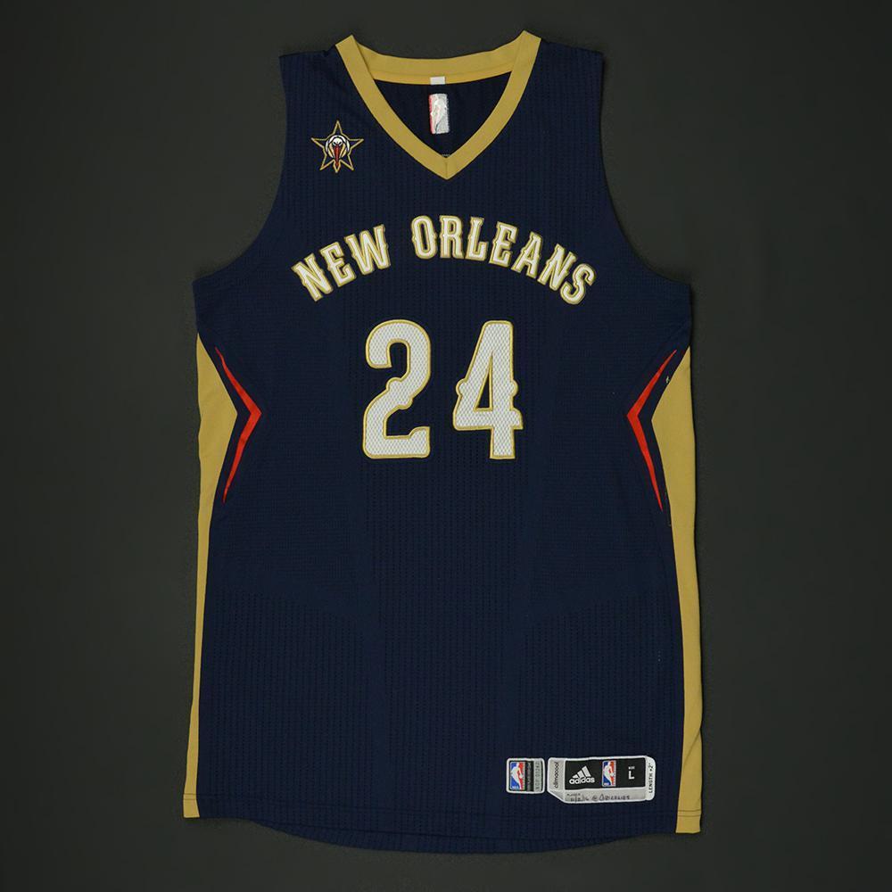 Buddy Hield - New Orleans Pelicans - Game-Worn Jersey - 2016-17 NBA Season