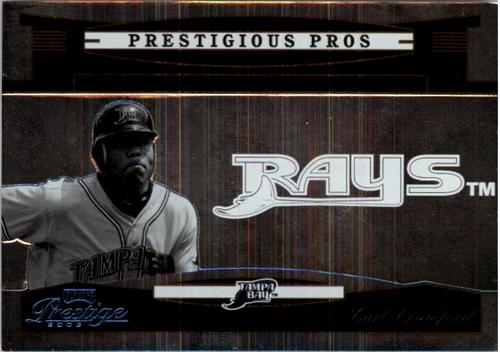 Photo of 2005 Playoff Prestige Prestigious Pros Silver #84 Carl Crawford
