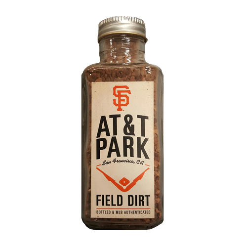 Photo of San Francisco Giants - Field Dirt - AT&T Park Game-Used Dirt Jar