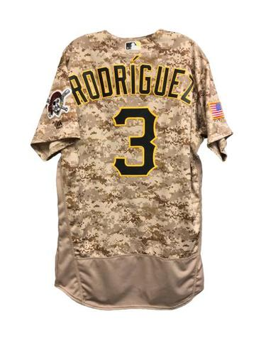 Photo of Sean Rodriguez Game-Used Jersey