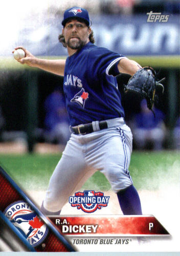 Photo of 2016 Topps Opening Day #OD30 R.A. Dickey