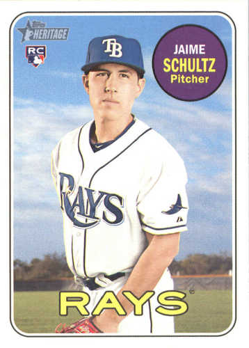 Photo of 2018 Topps Heritage #558 Jaime Schultz RC