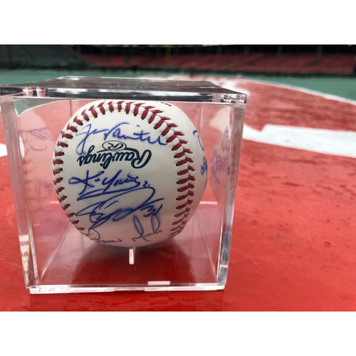 Photo of Red Sox Foundation - 2004 Team Autographed Baseball - Not MLB Authenticated