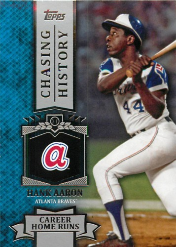 Photo of 2013 Topps Chasing History #CH35 Hank Aaron